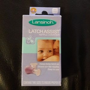 Lansinoh latch assist nipple everter